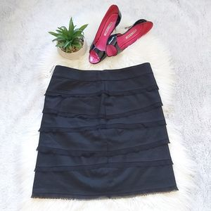 White House Black Market Tiered Pencil Skirt